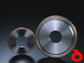 Crystal grinding wheels