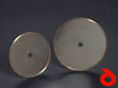 Cutting disc for glass, ceramics, stones
